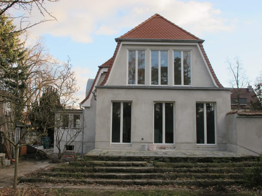 Berliner Fenstertür Holz zweiflügelig schlicht Fecon Nordwest