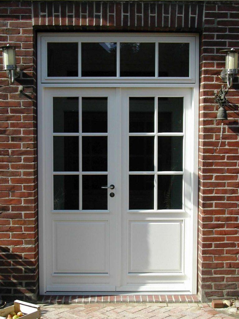 Dänische Haustür zweiflügelig Sprossen Oberlicht Fecon Nordwest