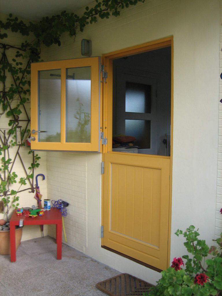 Dänische Klöntür Sprosse gelb Fecon Nordwest
