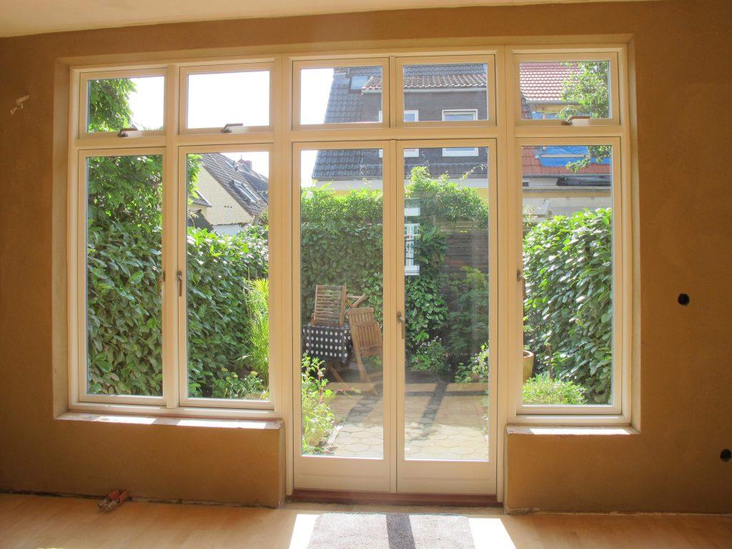 Dänische Kombination Fenstertür einwärts Fecon Nordwest