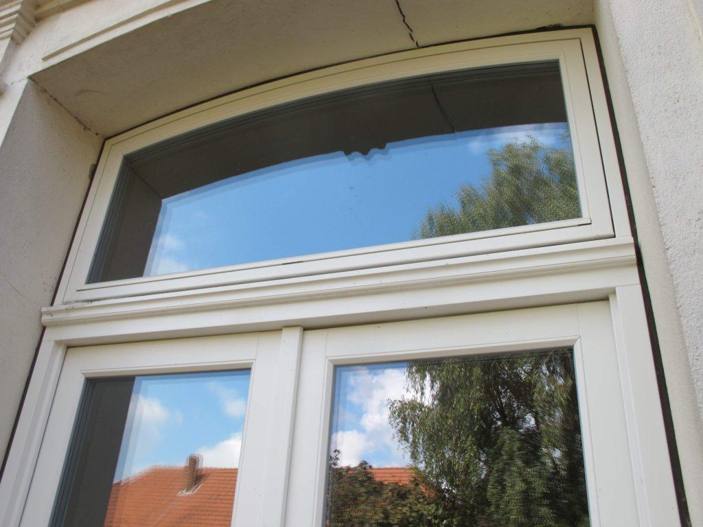Dänische Warmfenster Oberlicht weiß Fecon Nordwest