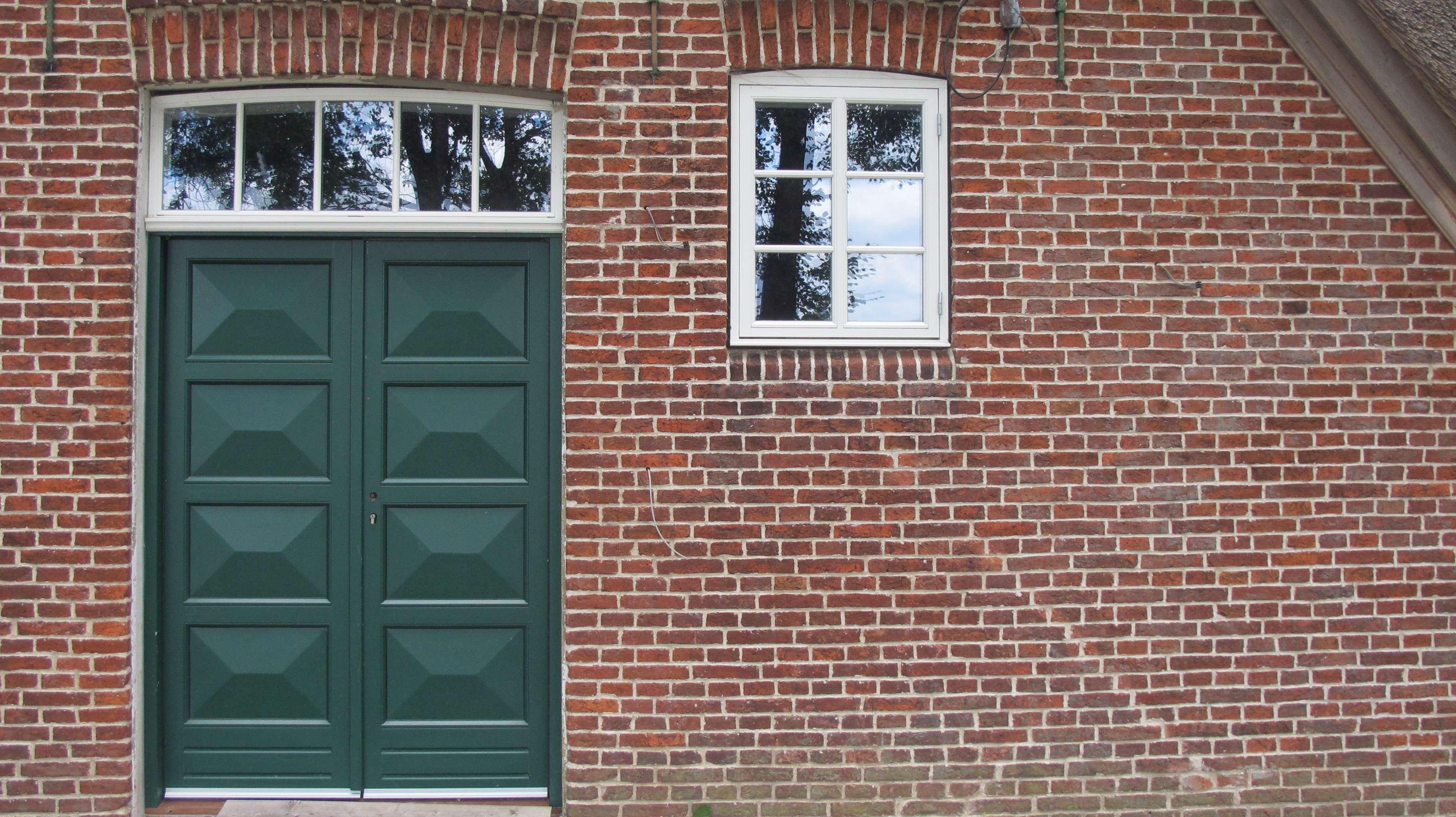 Dänische Haustür_komplette Füllung_zweiflügelig_Oberlicht_Fecon_Nordwest
