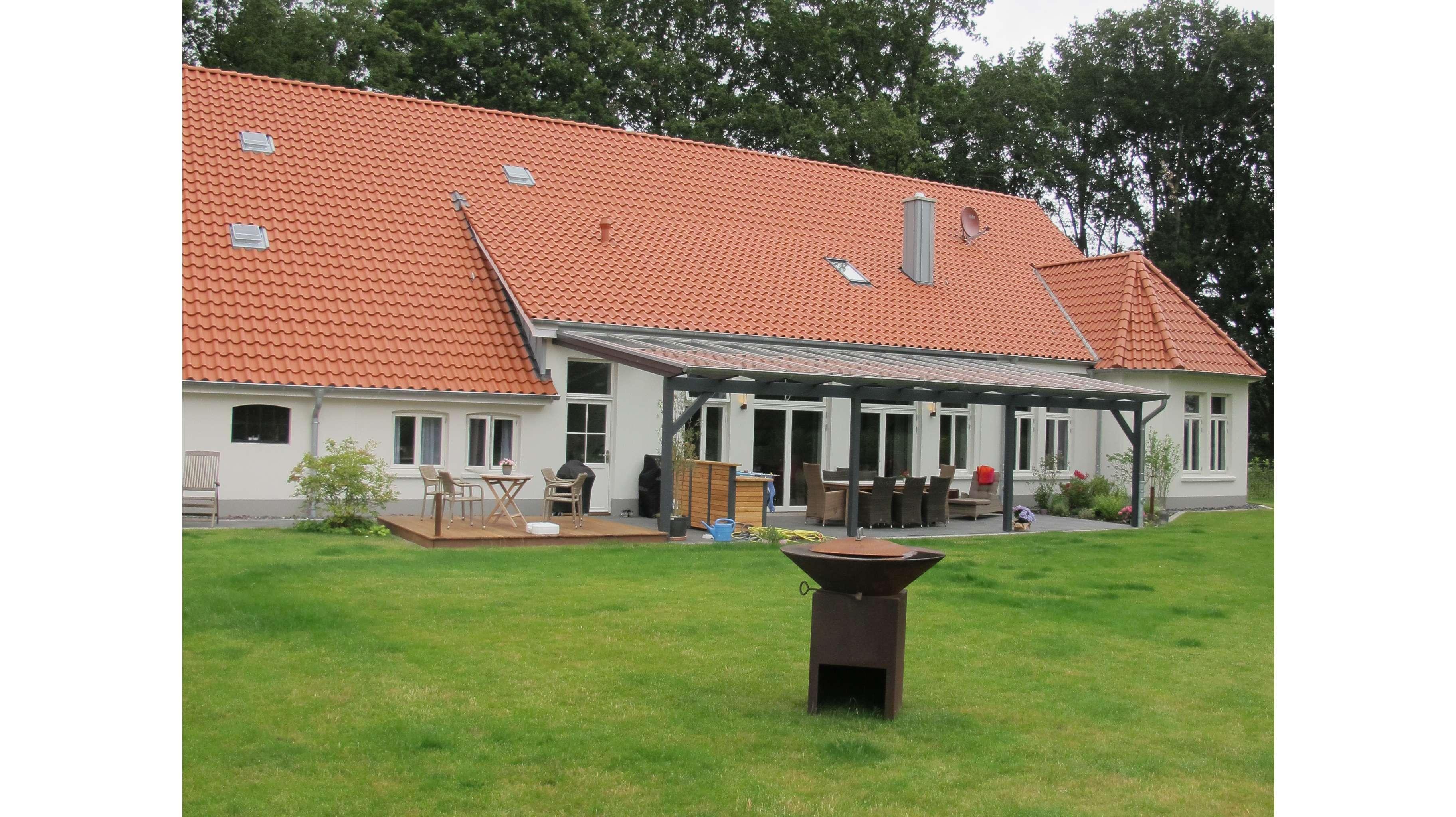 Bauernhof_Wohnbereich_Terrassentüren_Fecon Nordwest
